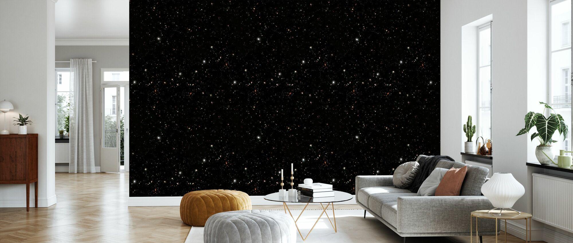 Starfield Dark - Wallpaper - Living Room