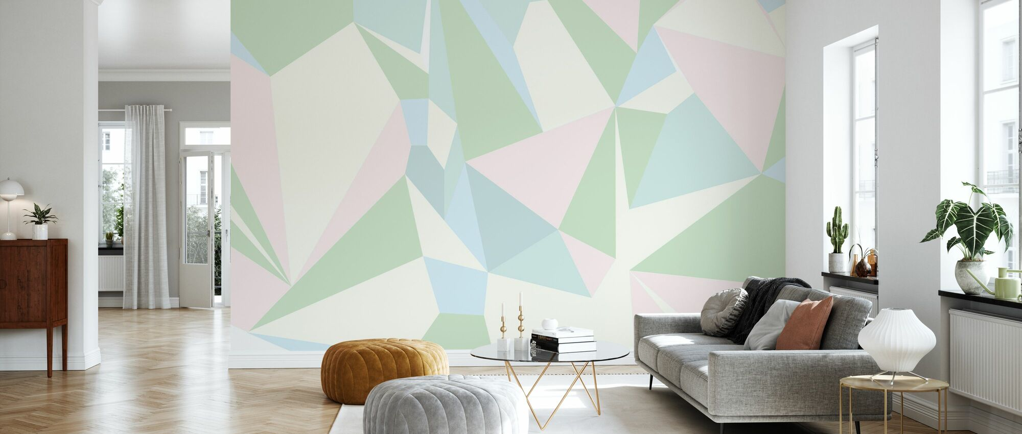 Holographic - Wallpaper - Living Room