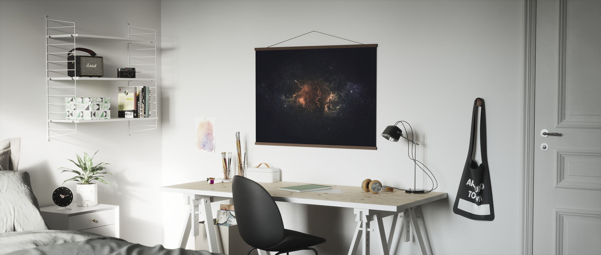 Outer Space Plasma - Poster - Office