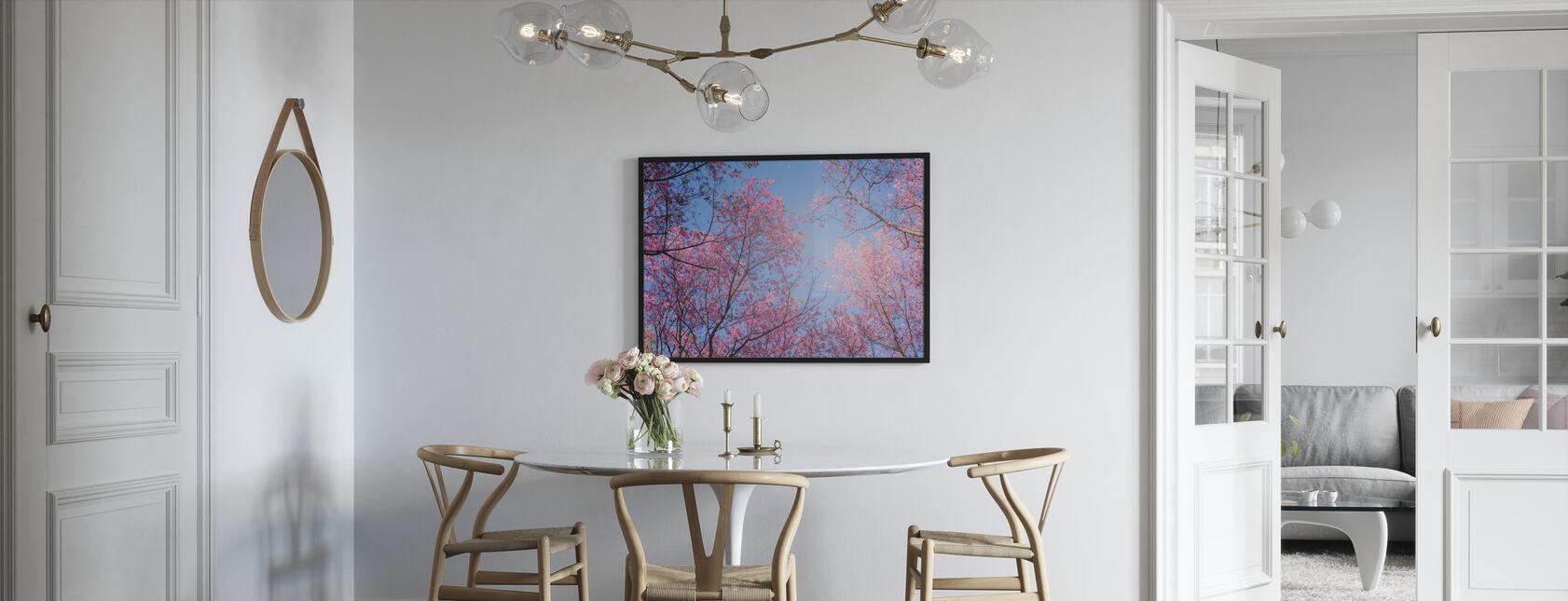 Taivas puut - Kehystetty kuva - Keittiö