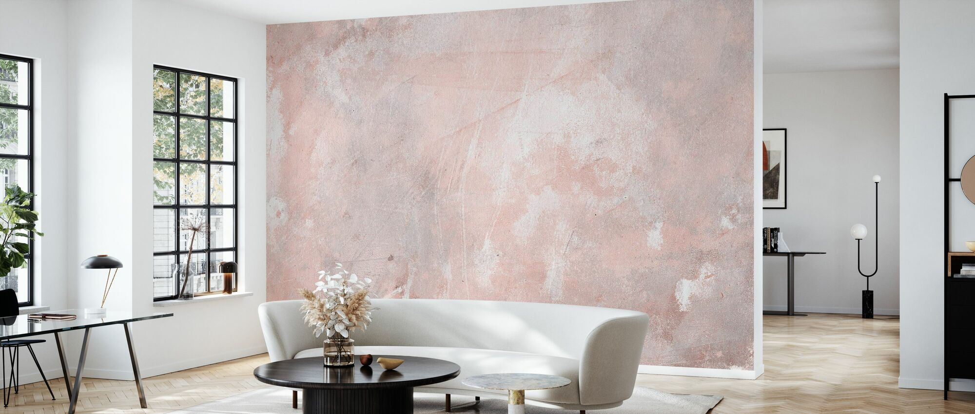 Soft Grunge Stone Wall - Wallpaper - Living Room