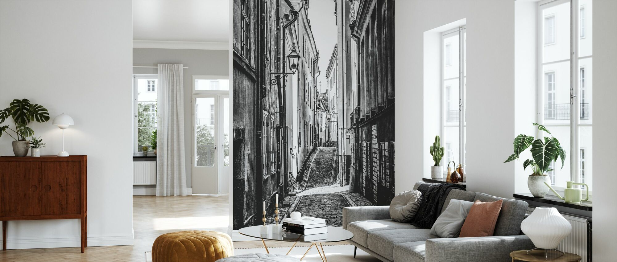 Strassen von Stockholm - Tapete - Wohnzimmer