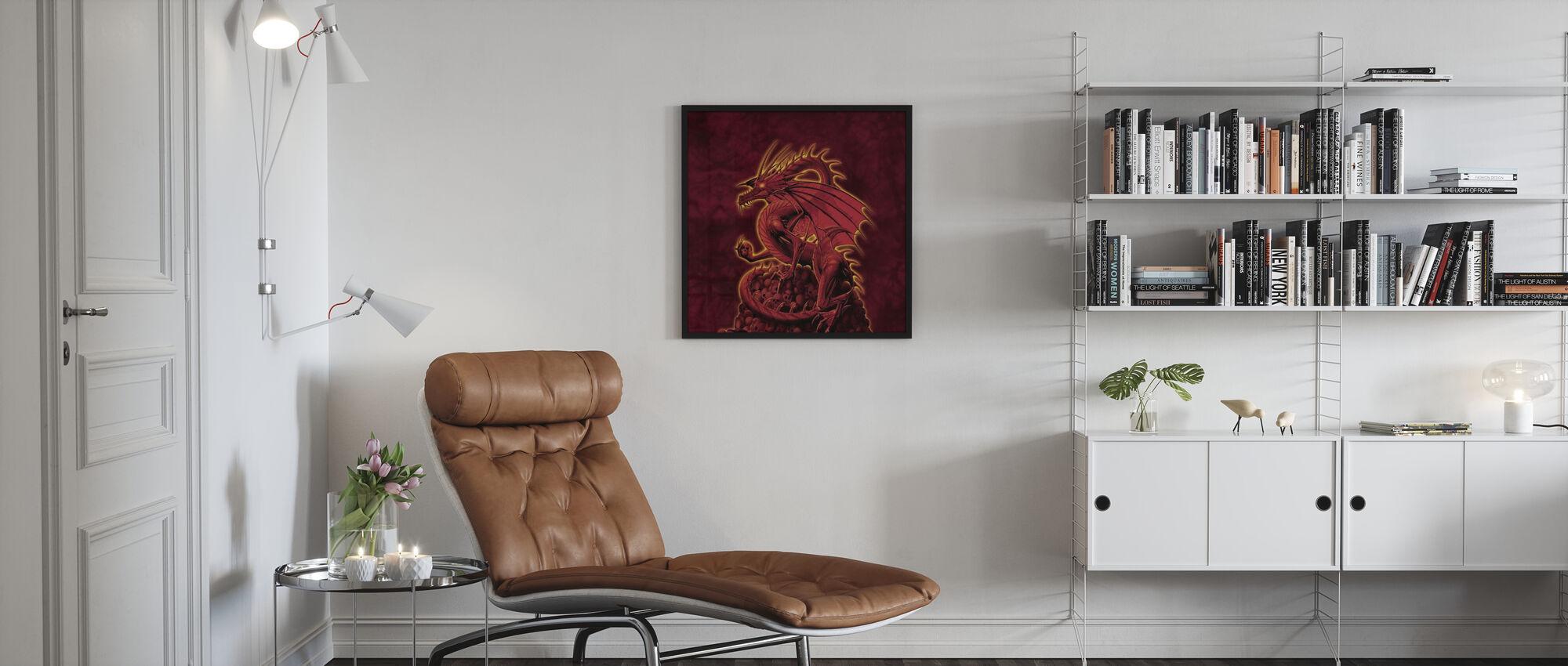 Abschaffer Rote Version - Poster - Wohnzimmer
