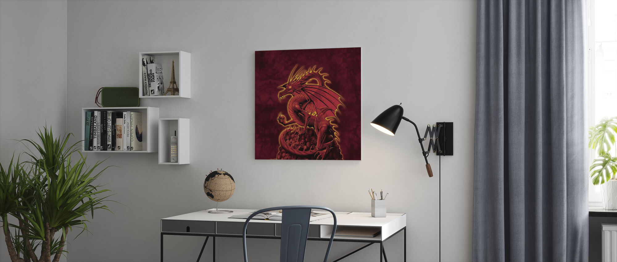 Abolisher Red Version - Canvas print - Office