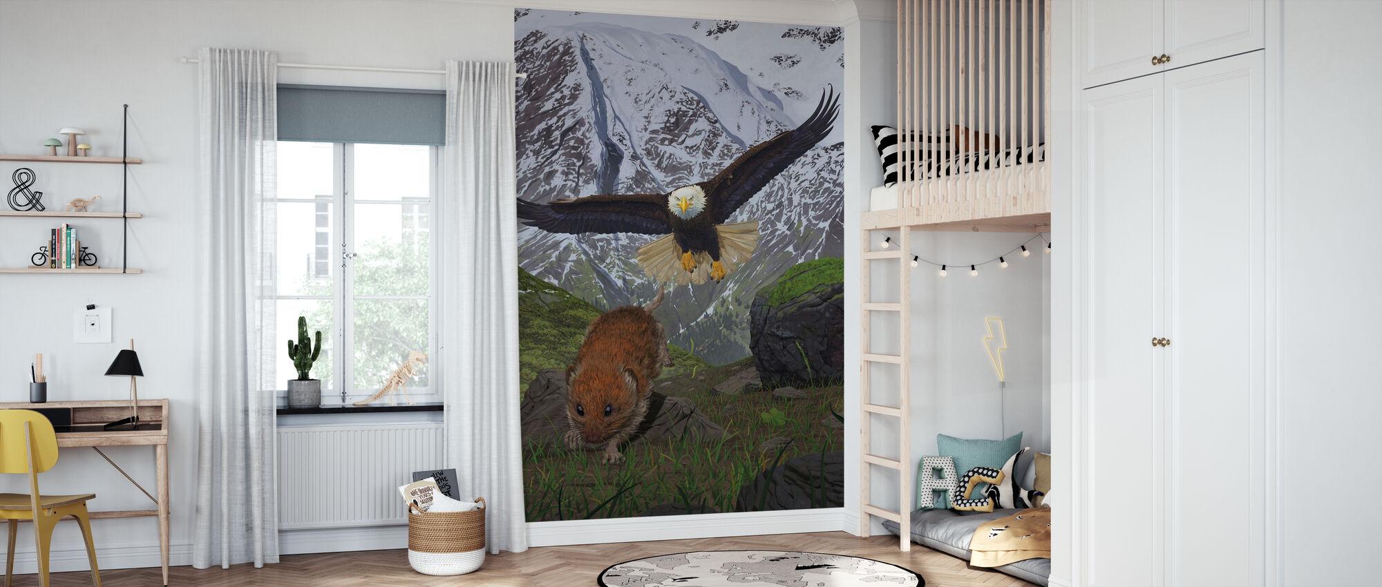 Alaskassa - Tapetti - Lastenhuone