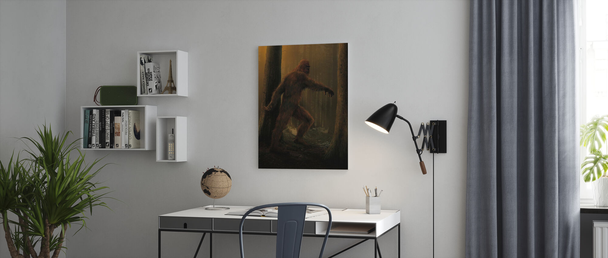 Bigfoot - Canvastavla - Kontor