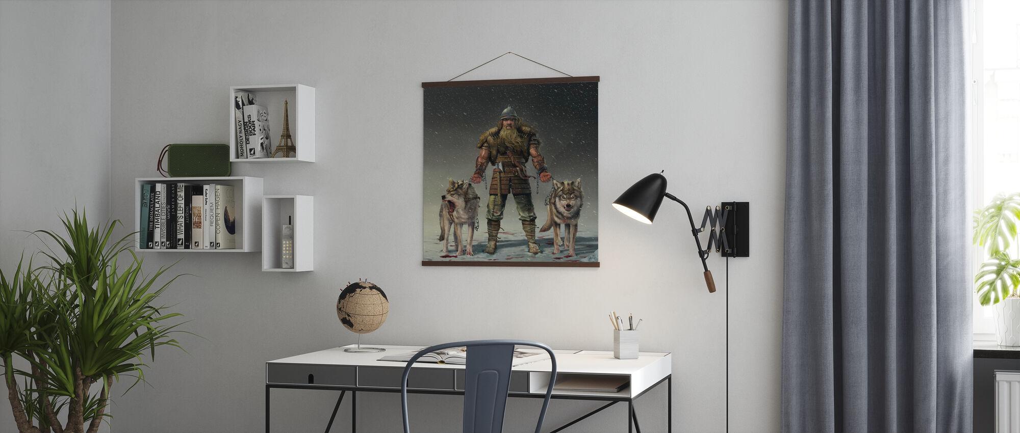 Bergwiking - Poster - Büro