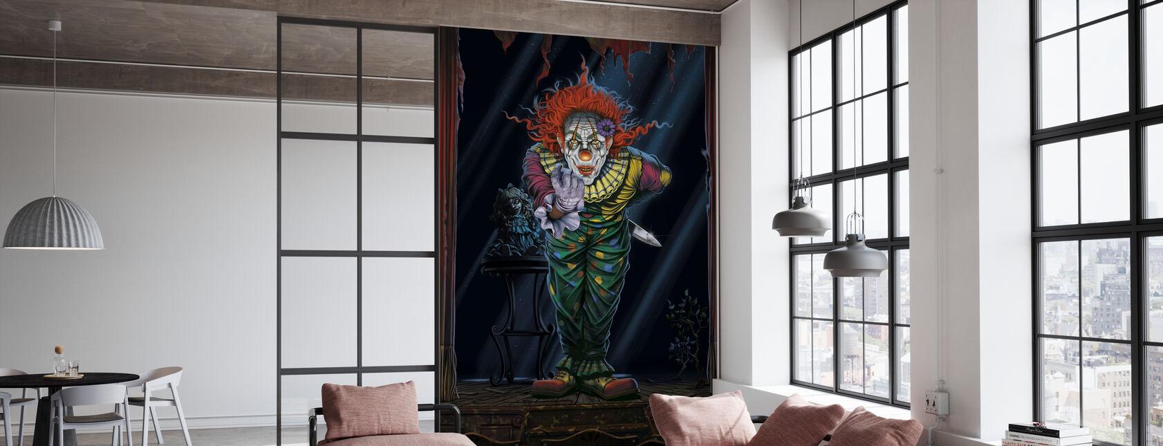 Surprise Clown - Wallpaper - Office