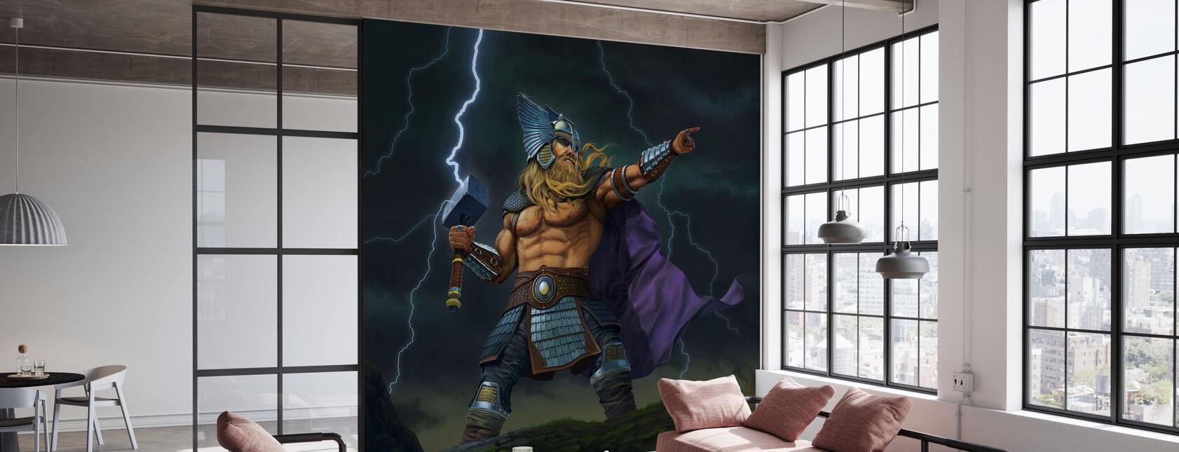 Thor Gud af Torden - Tapet - Kontor