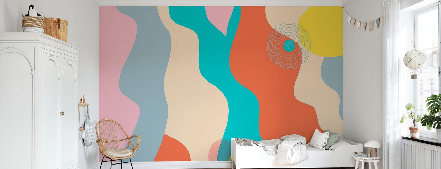 Space - Wallpaper - Kids Room