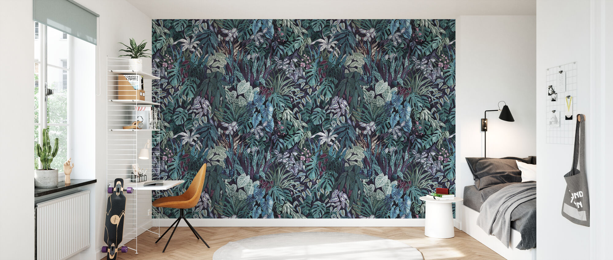 Tanglewood Forest - Veridian Large - Wallpaper - Kids Room
