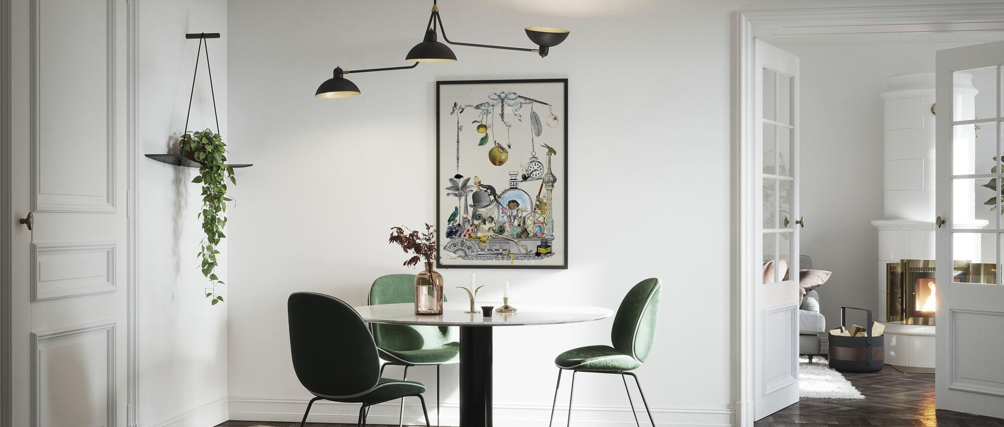 Hello aus die Wunderkammer - Poster - Küchen