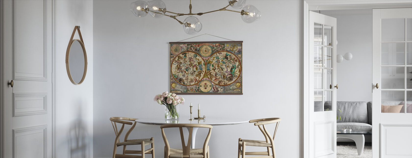 Celestial Map - Poster - Kitchen