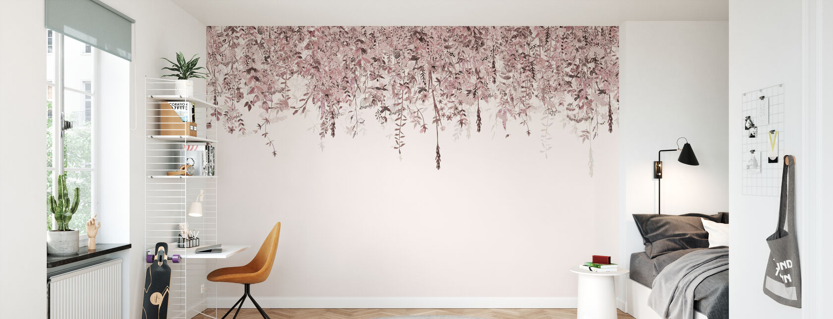 Enchanted Blush - Wallpaper - Kids Room