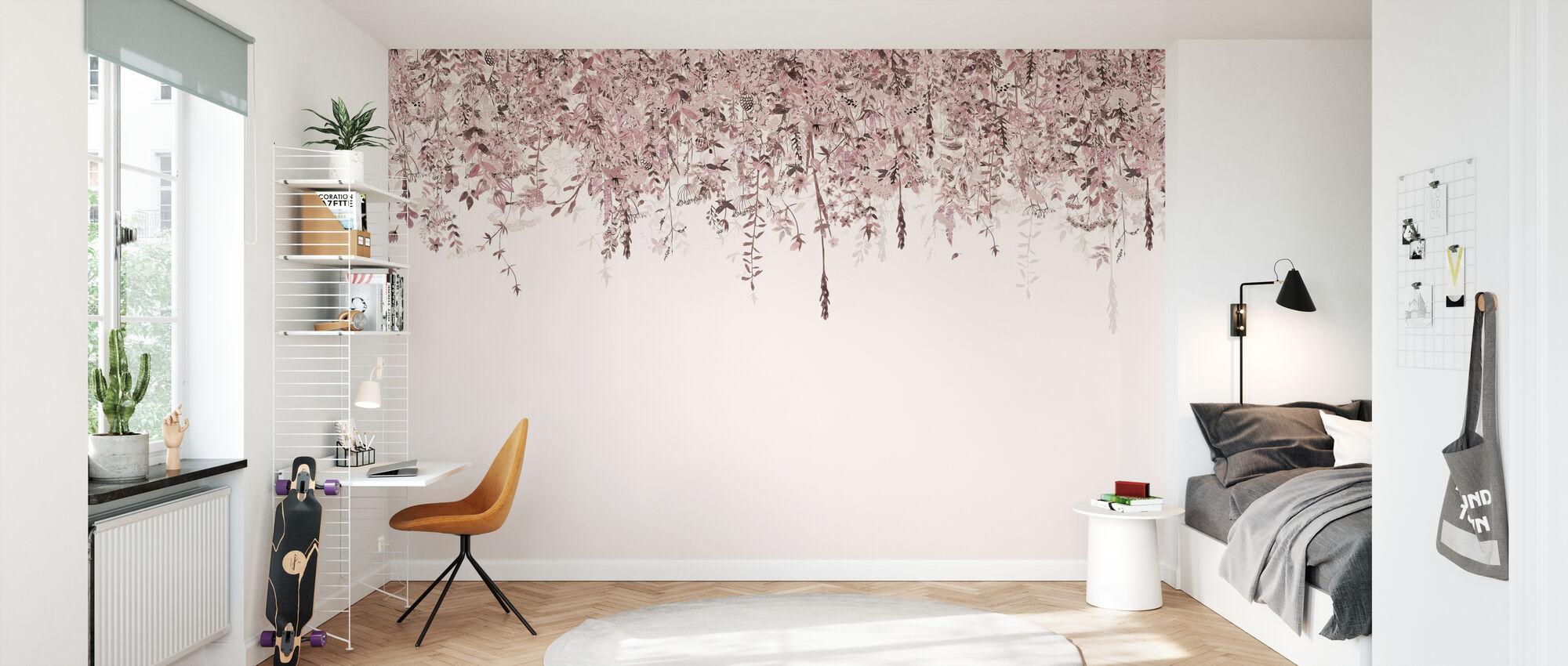 Enchanted Blush - Wallpaper - Kids Room