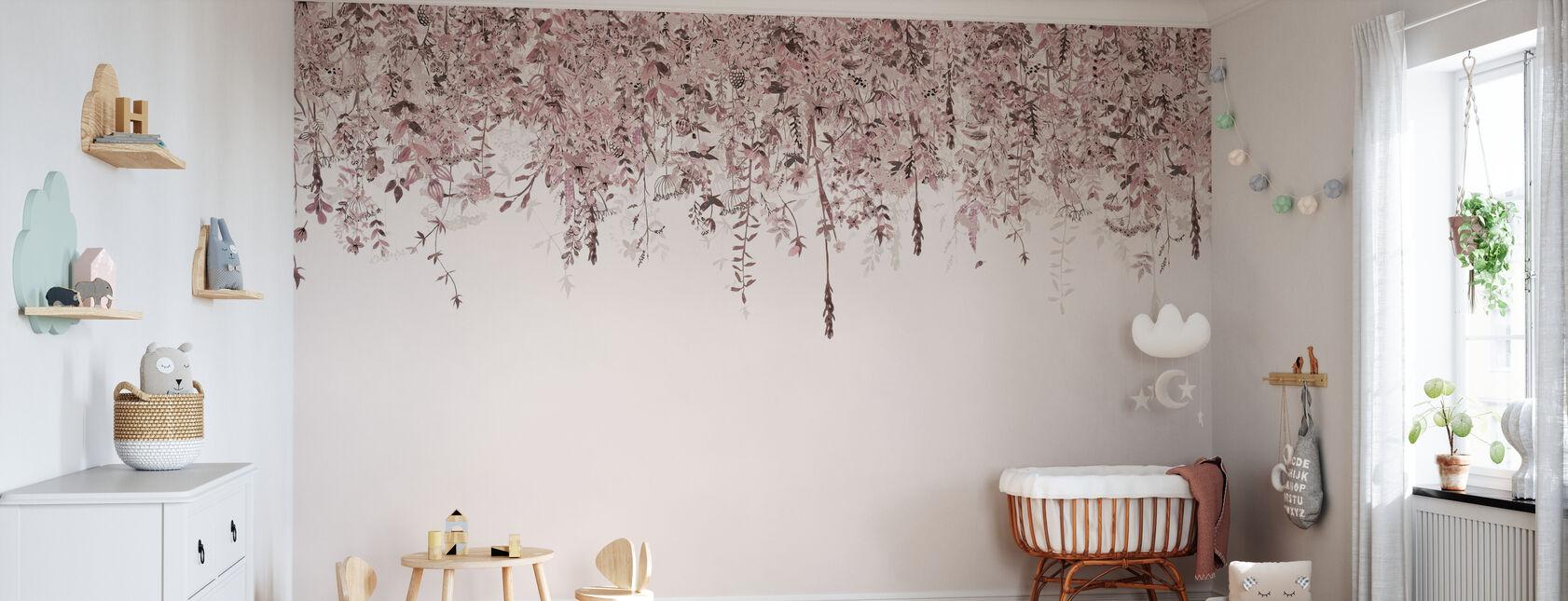 Enchanted Blush - Wallpaper - Nursery