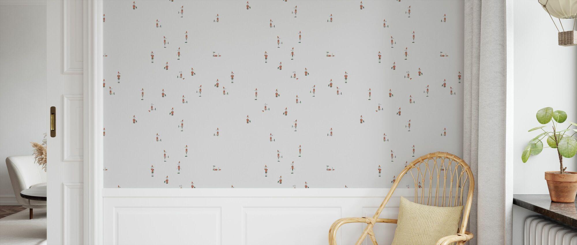 Pinocchio - Wallpaper - Kids Room