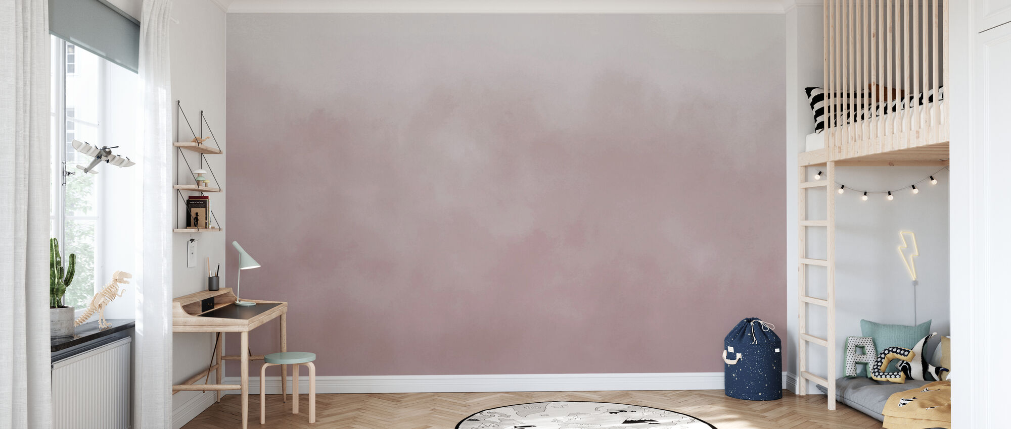Air - Morning Mist - Wallpaper - Kids Room