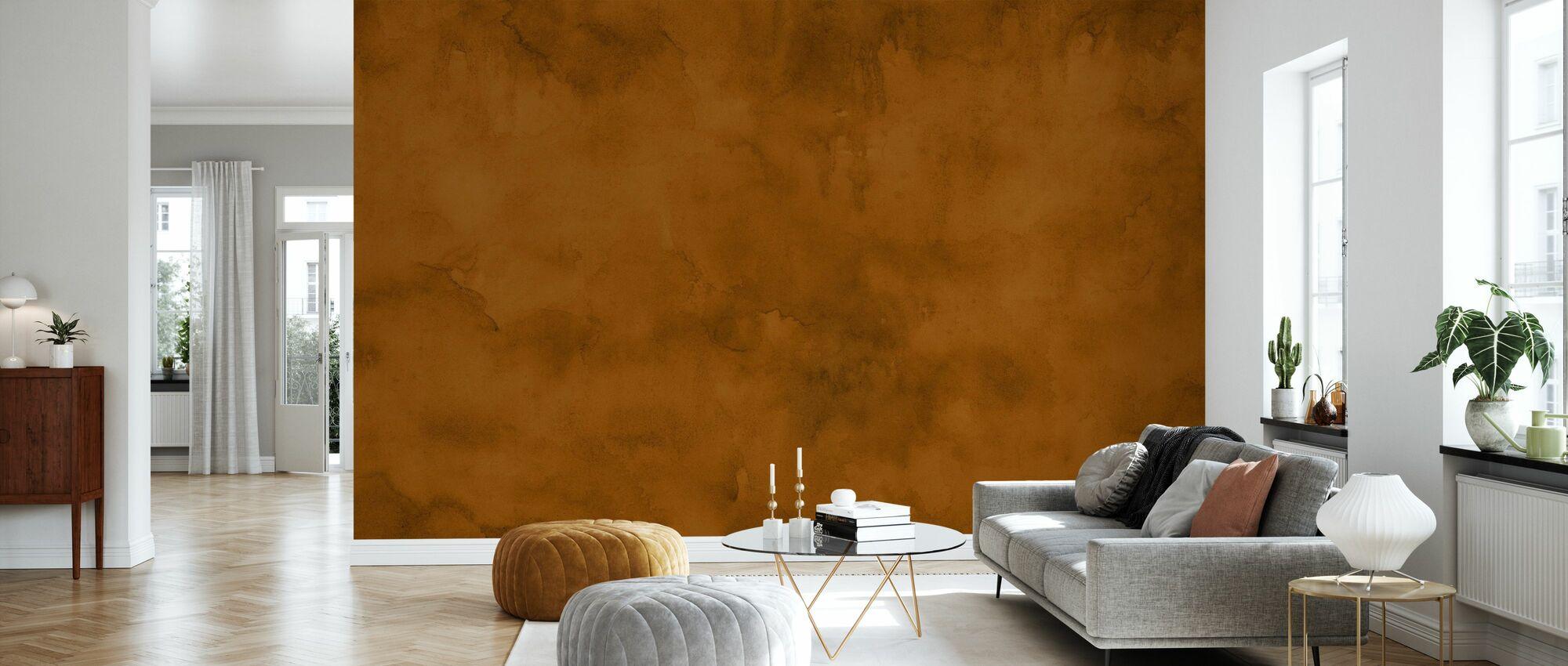 Akvarell - Høst Spice - Tapet - Stue