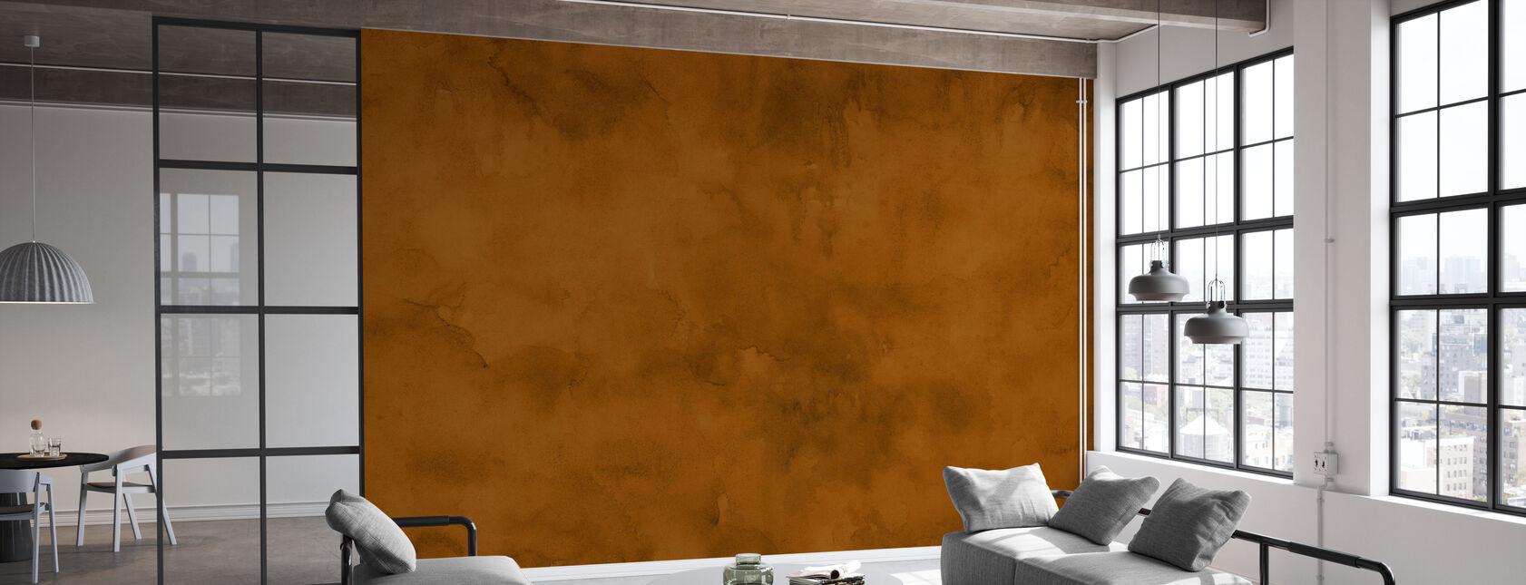 Akvarell - Höstkrydda - Tapet - Kontor