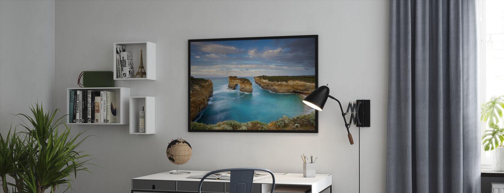 Loch Ard Gorge - Framed print - Office