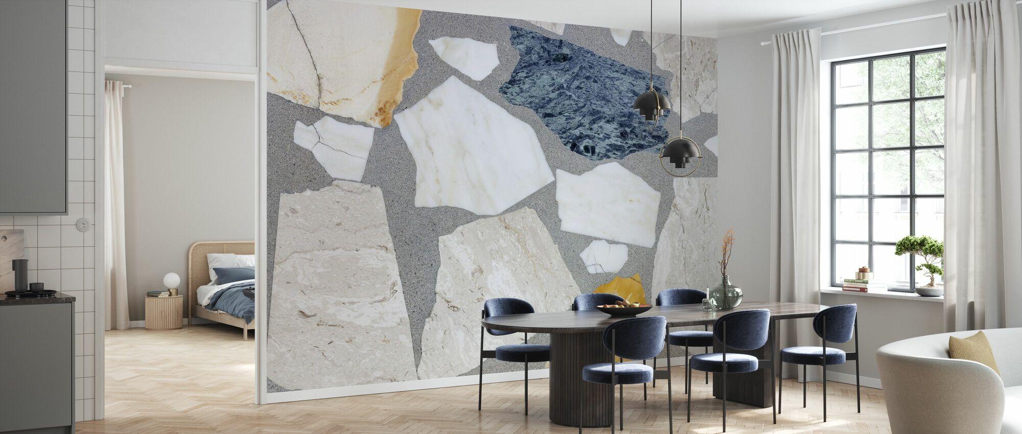 Mixed Terrazzo - Wallpaper - Kitchen