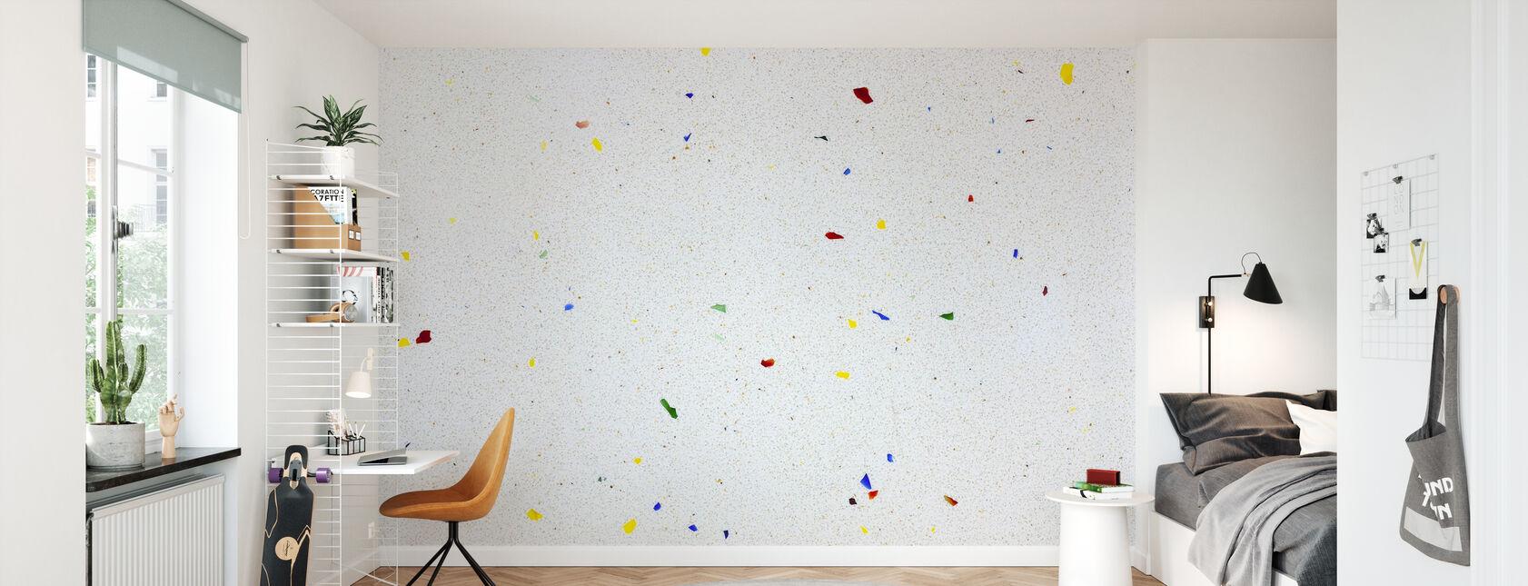 Multi Color Terrazzo - Tapeta - Pokój dziecięcy