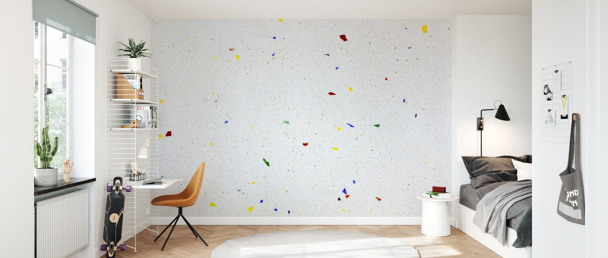 Multi Color Terrazzo - Behang - Kinderkamer