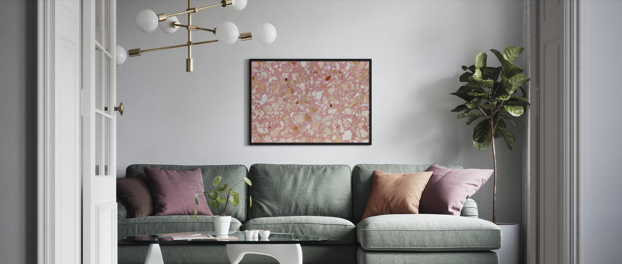 Terrazzo Rosa Texturae - Poster - Salotto