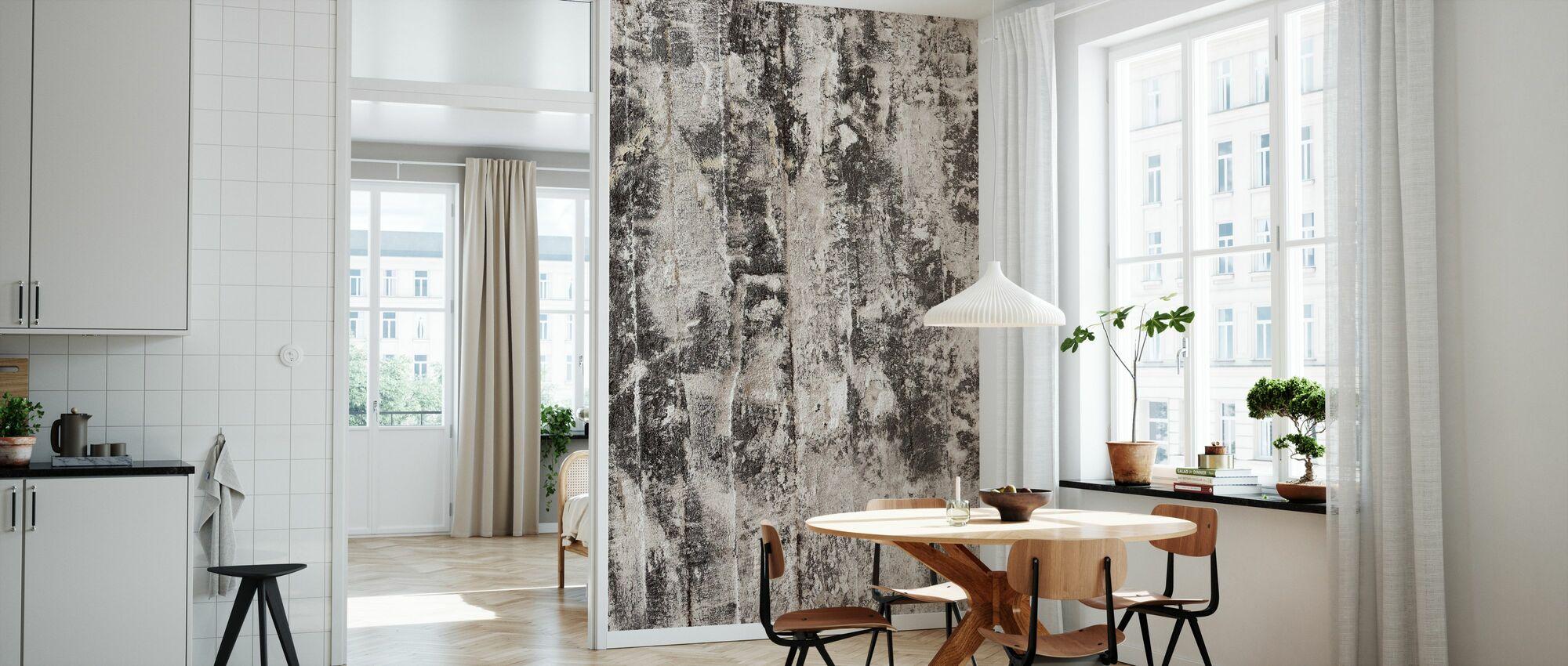 Rough Wall - Wallpaper - Kitchen