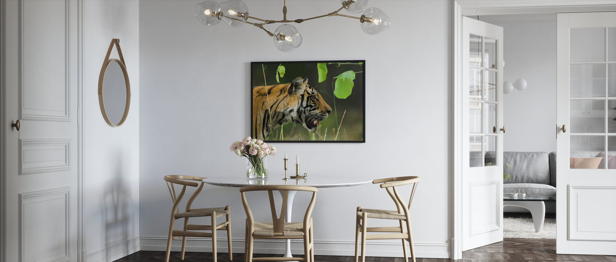 Male Bengal Tiger - Poster - Kitchen