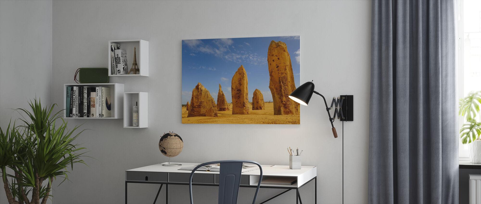 Limestone Formations II - Canvas print - Office