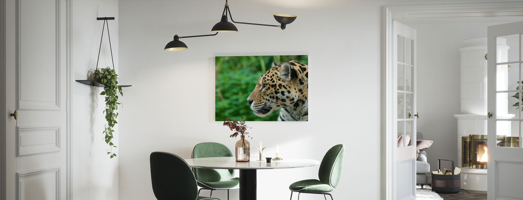 Jaguar - Canvas print - Kitchen