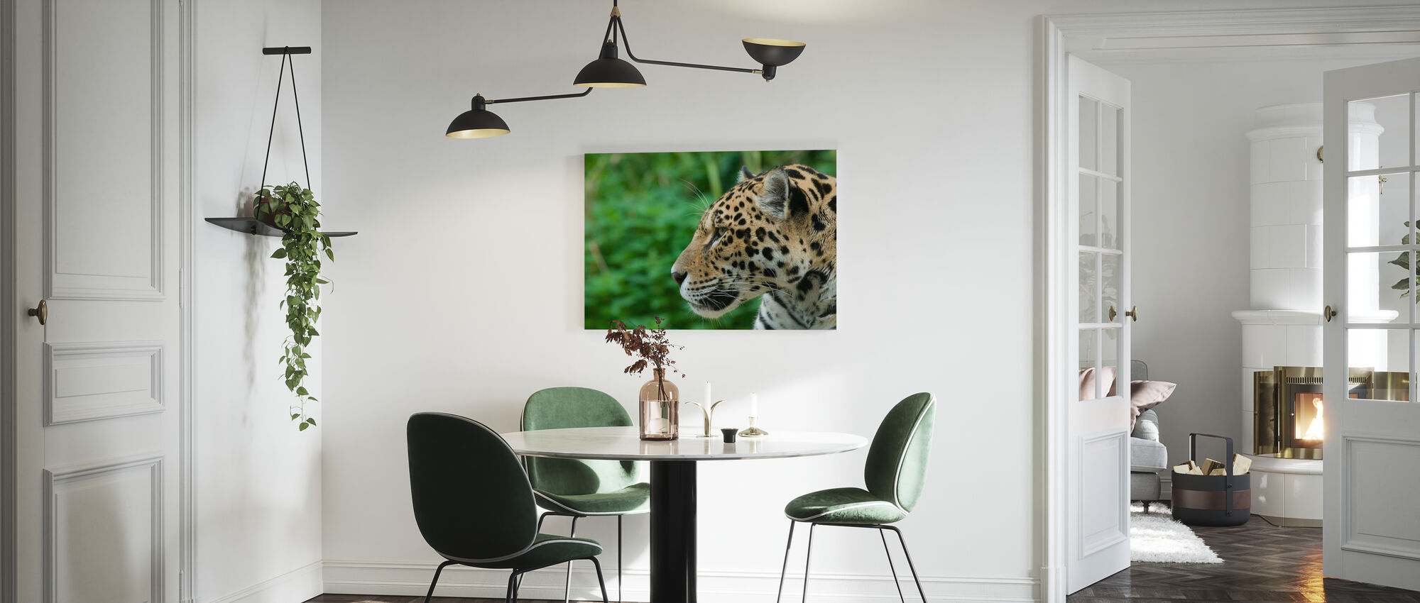 Jaguar - Canvas print - Keuken