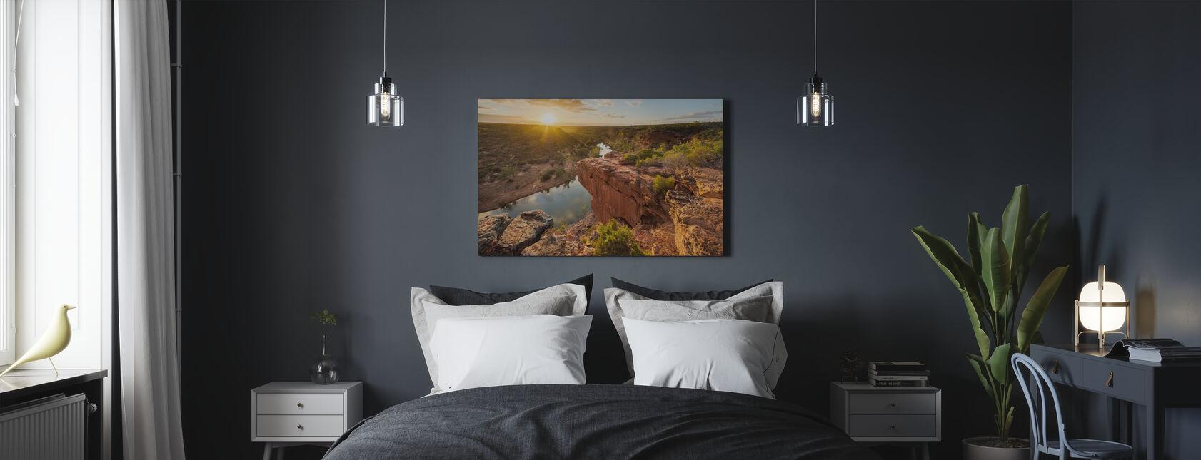 Hawk's hoofd uitkijk - Canvas print - Slaapkamer