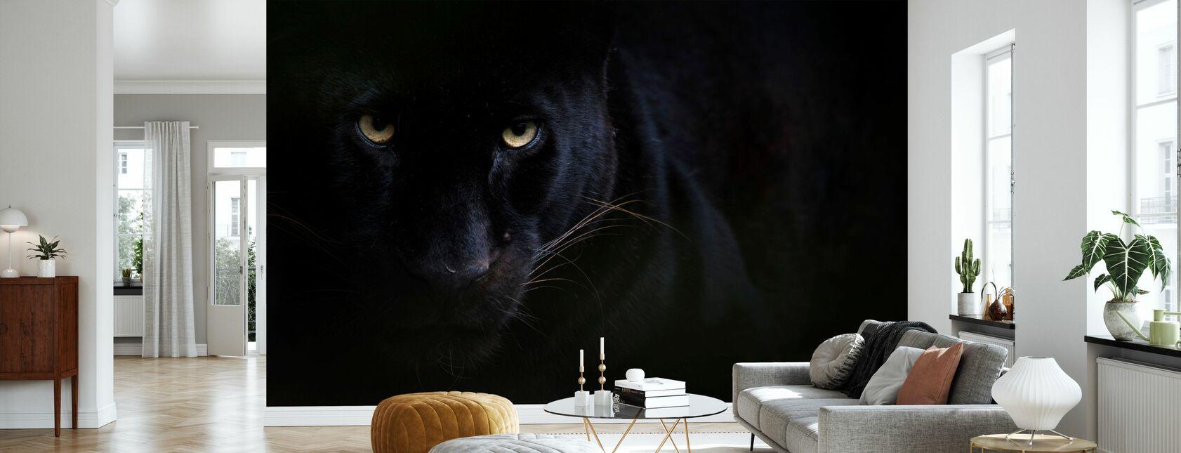 Zwarte Panter - Behang - Woonkamer