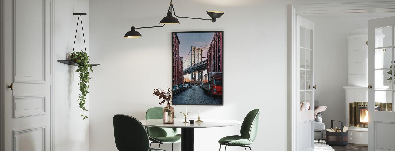 Manhattan-Brücke - Poster - Küchen