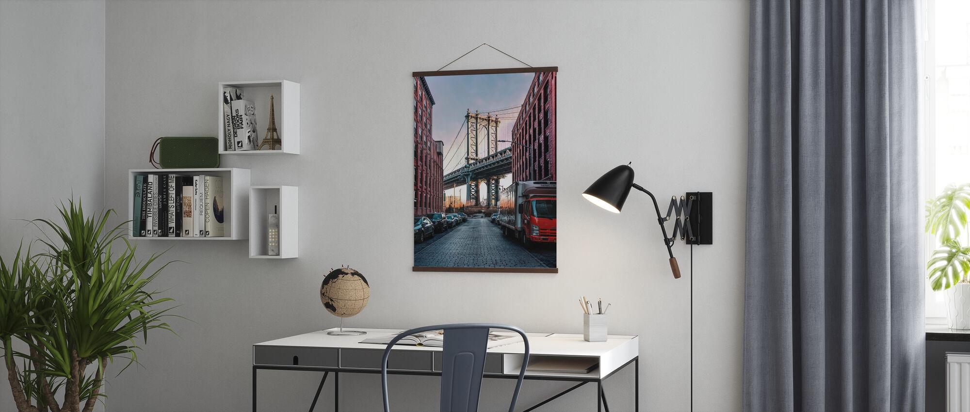 Manhattan-Brücke - Poster - Büro