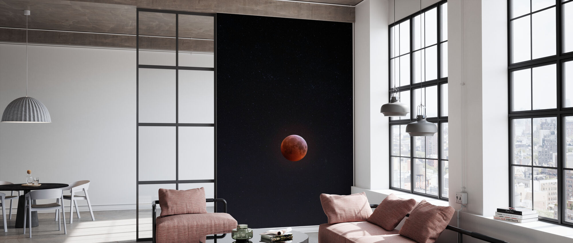 Lunar Eclipse - Tapetti - Toimisto