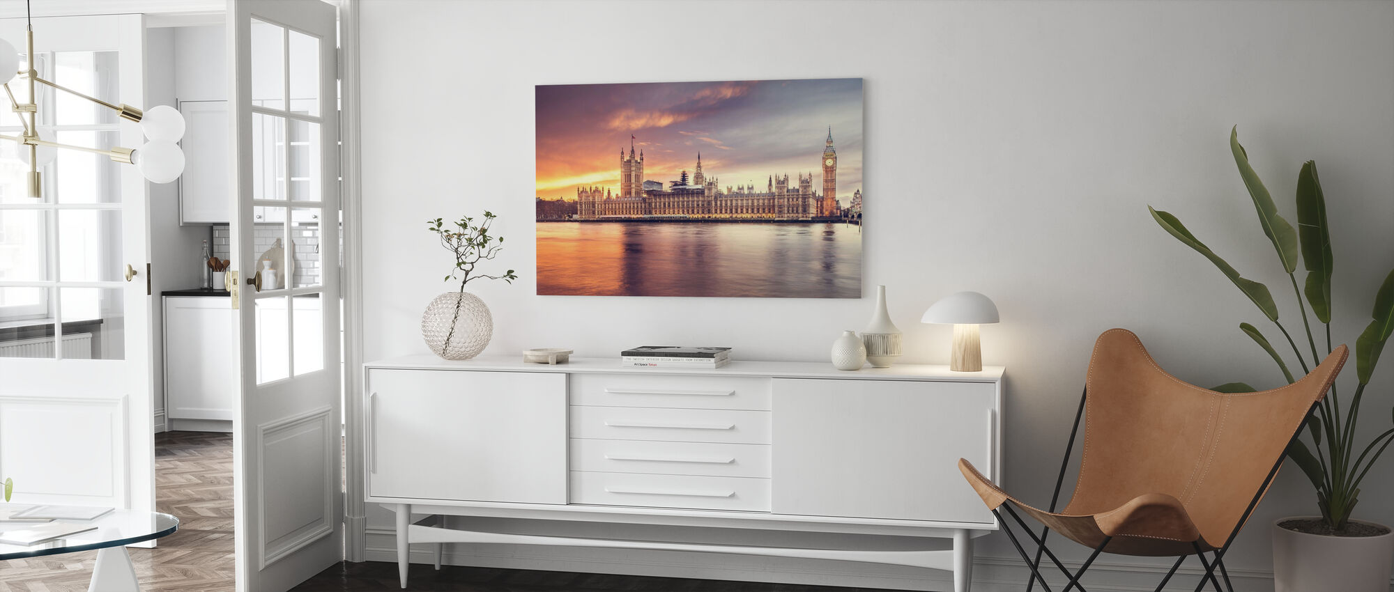 Houses of Parliament - Canvas print - Living Room