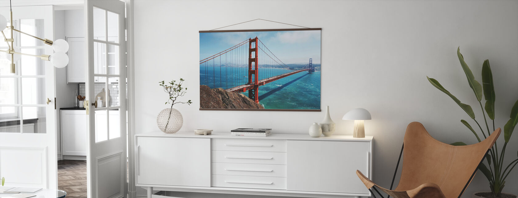 Ponte Golden Gate - Poster - Salotto
