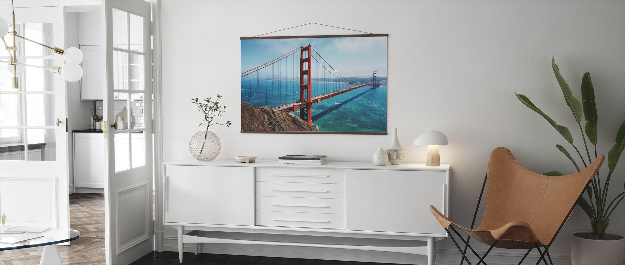 Golden Gate Bridge - Poster - Living Room