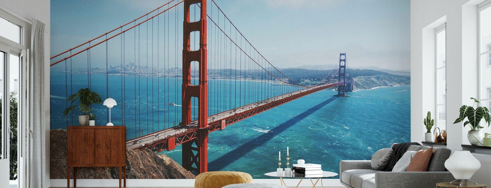 Golden Gate Bridge - Tapete - Wohnzimmer