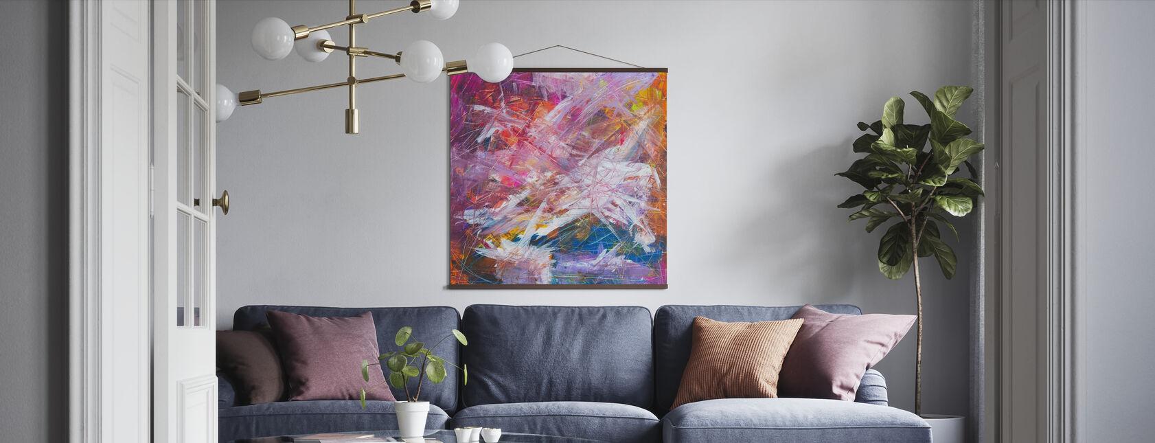Abstrakt maleri - Plakat - Stue