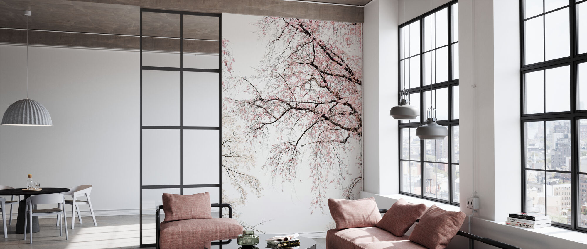 Cherry Blossoms - Wallpaper - Office