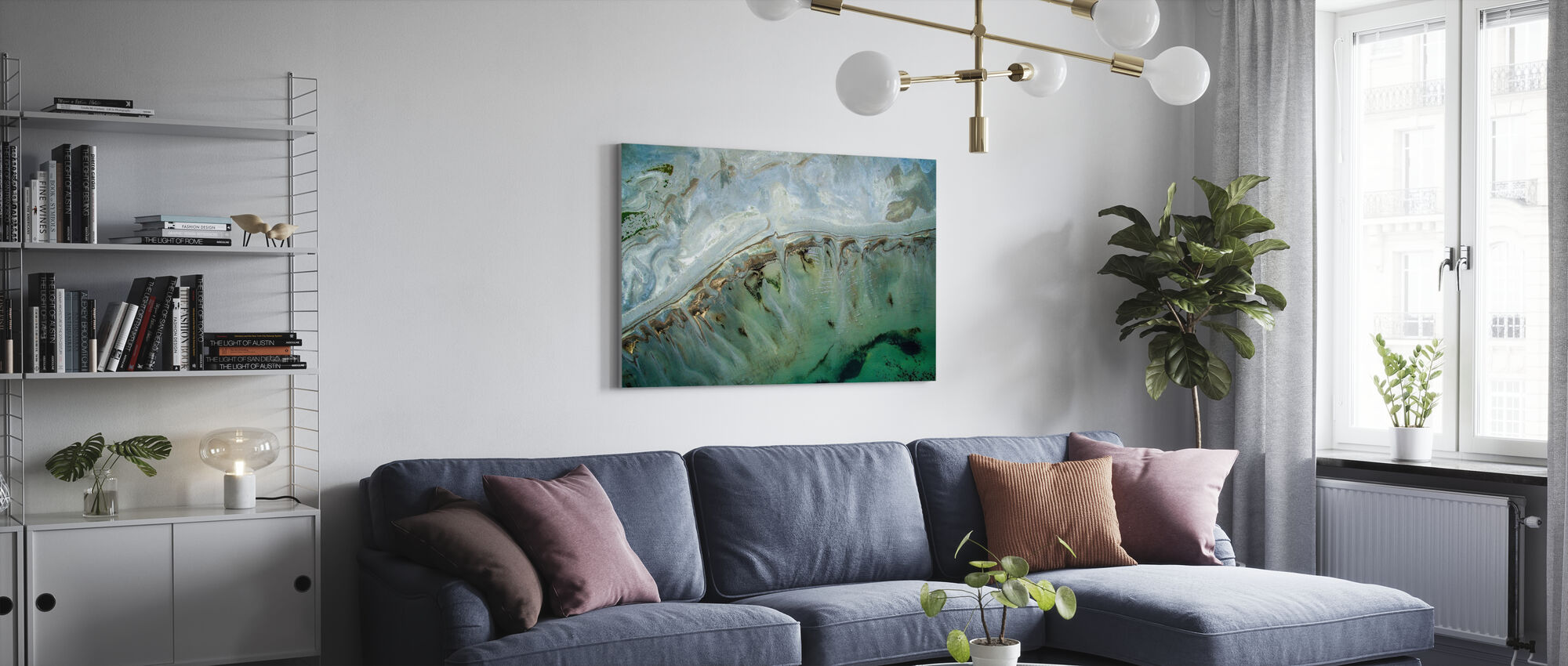Great Salt Lake - Canvas print - Living Room
