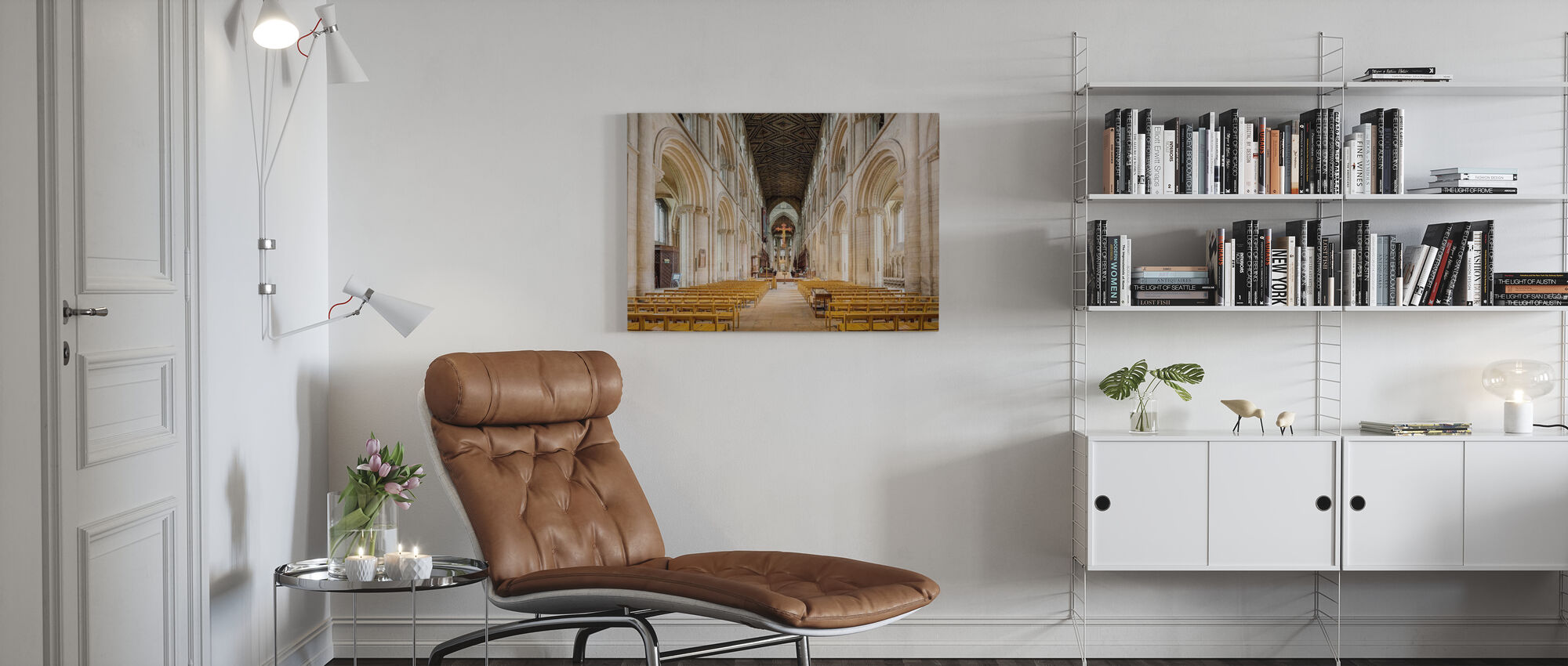 Katedralen kirke - Lerretsbilde - Stue