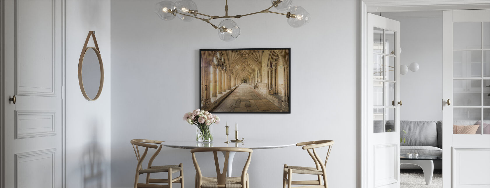 Kathedraal van Canterbury - Poster - Keuken