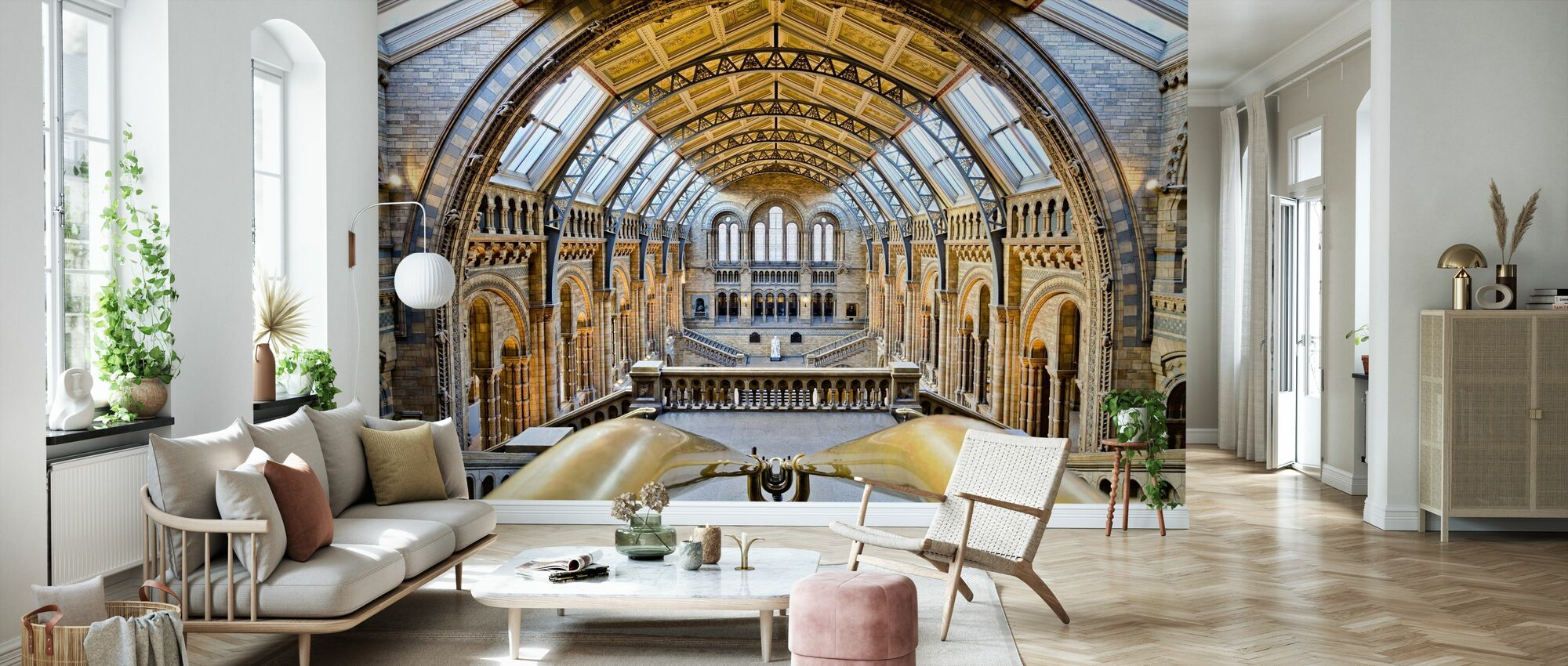 Natural History Museum - Wallpaper - Living Room