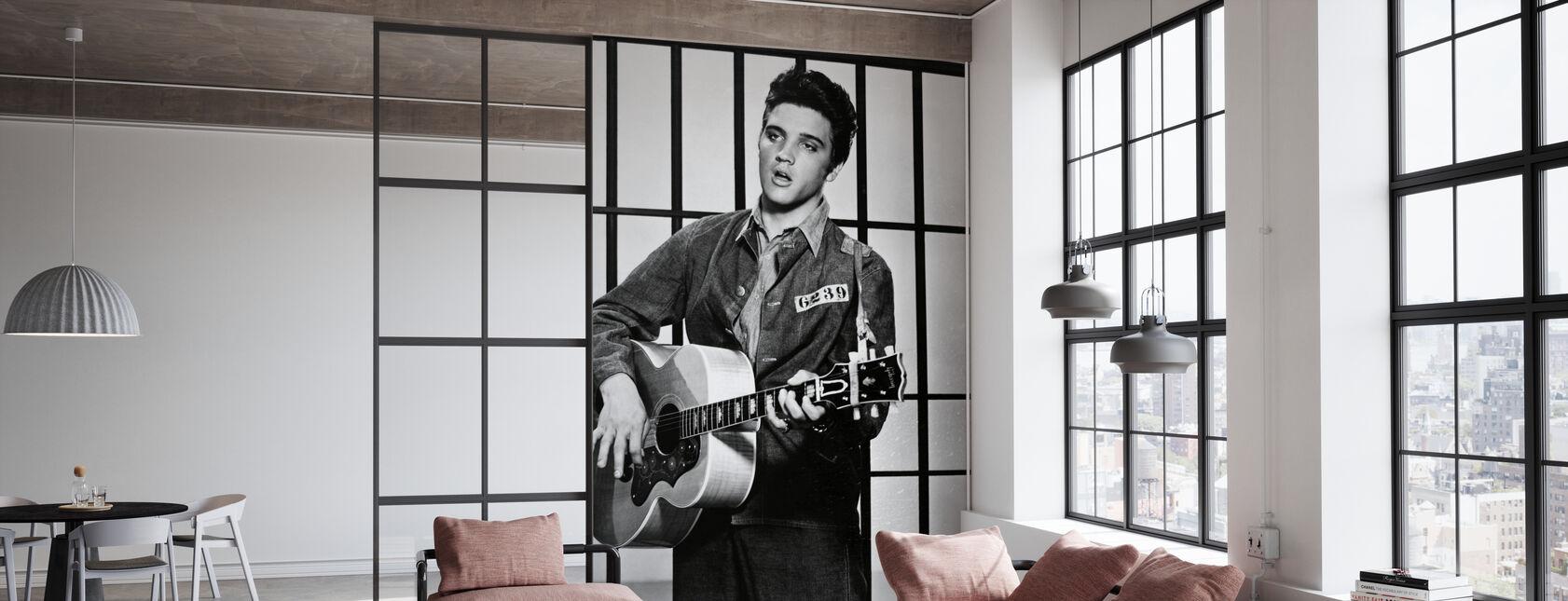 Elvis Presley dans Jailhouse Rock - Papier peint - Bureau
